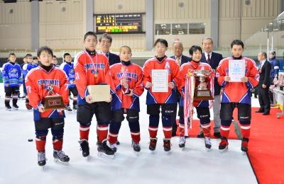 第40回全道小学生アイスホッケー選手権大会 最終結果